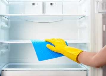To clean Refrigerator