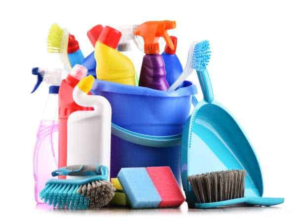 Necessary Kitchen Cleaner Equipment & Ingredients
