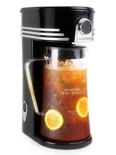 OKSLO ci3bk cafг ice 3-quart iced coffee & tea brewing machine