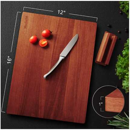 Hodekt Wood Cutting Board with Stand