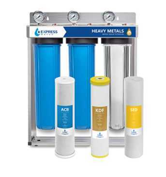 Express Water Heavy Metal Whole House iron Water Filter