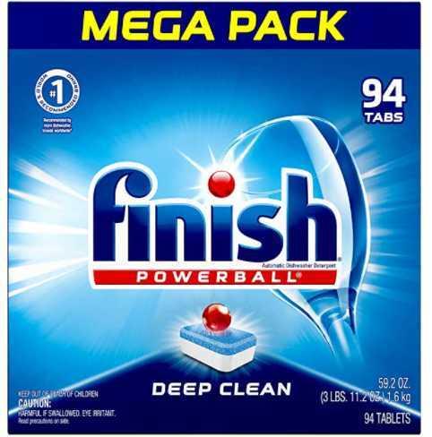 Finish All in-1 Dishwasher Detergent