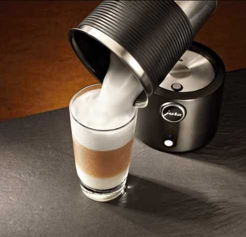 How to use Jura automated milk frother