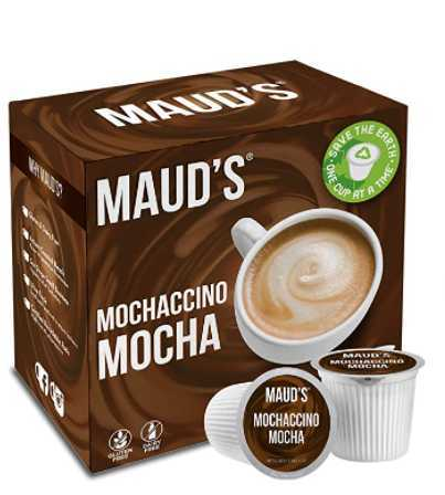 Maud's Dark Chocolate Mocha Cappuccino Dark Roast Espresso Coffee
