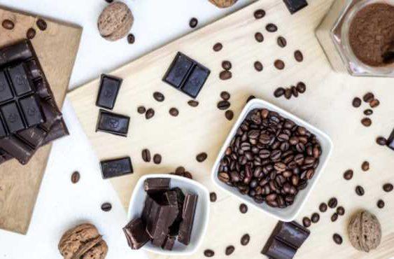 Why do most coffee beans have chocolate as one of the taste notes