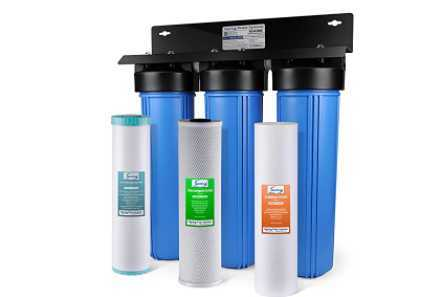 iSpring WGB32BM 3-Stage Whole House Water Filtration