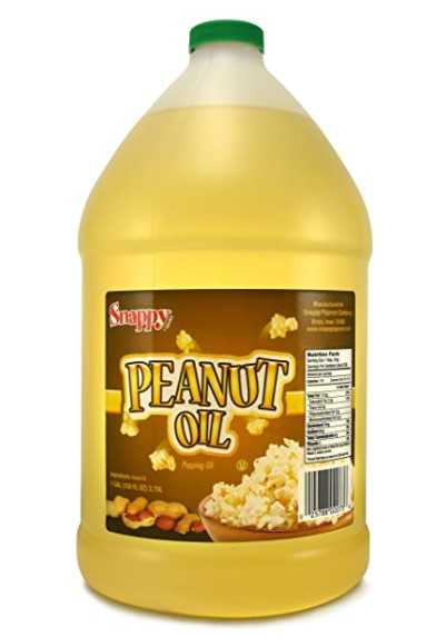 Snappy Popcorn 1 Gallon Snappy Pure Peanut Oil