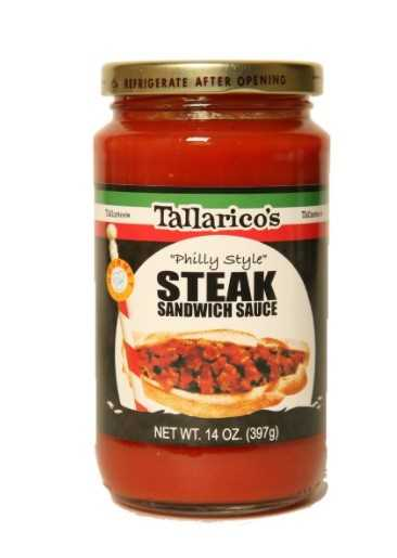 "Tallarico's ""Philly Style"" Steak Sandwich Sauce 2 Jars"