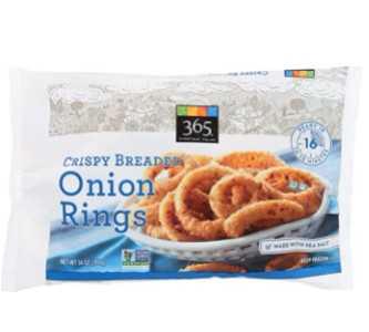 365 by WFM, Frozen Onion Rings, 14 Ounce