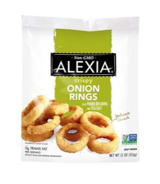 Alexia Crispy Frozen Onion Rings, 11 oz