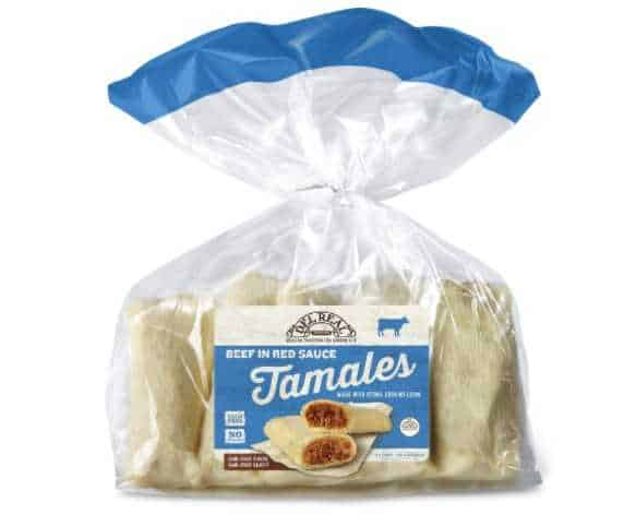 Del Real Foods Tamales, Beef in Red Sauce, 24 Ounce