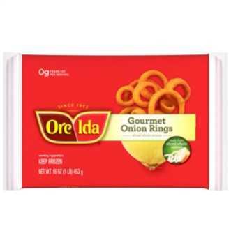 Ore-Ida Frozen Gourmet Onion Rings, 16 oz