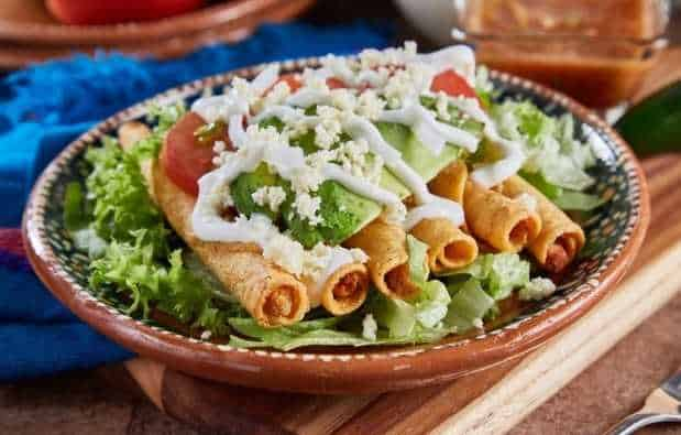 Are frozen taquitos healthy