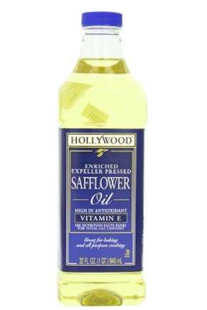 Hollywood Safflower Oil, 32 Oz