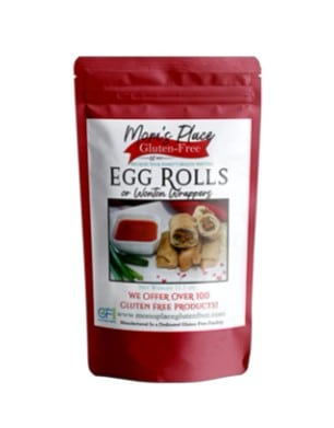 Mom's Place Gluten Free Egg Roll, 11.5 ounces